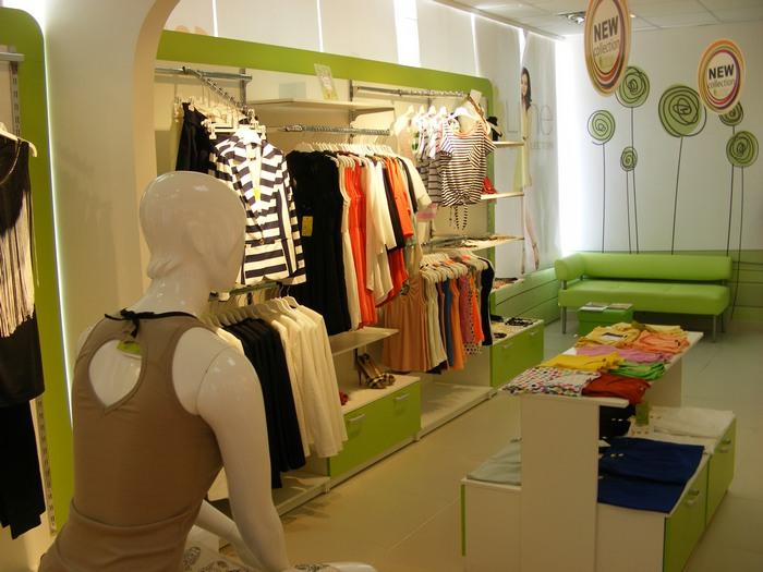 мебель в магазин одежды