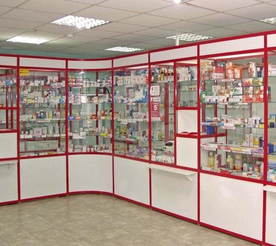 Оборудование для аптек компании АртМодульМебель | 479x538