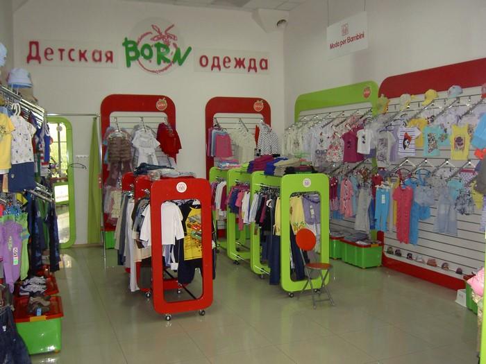 Торговое оборудование для магазина детской одежды-Торговая мебель ZD43